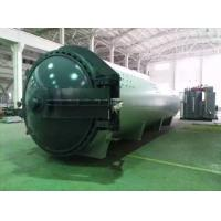 Buy cheap 1.2*5M steam Rubber Vulcanizing Autoclave , industrial autoclave hydraulic from wholesalers