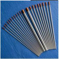 Buy cheap tungsten electrodes Tip Color Red WT20 2% Thorium used for welding from wholesalers