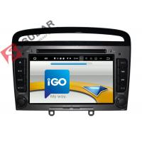 Buy cheap HMDI Output Double Din Dvd Car Stereo , Peugeot 408 / Peugeot 308 Dvd Player Built - In WIFI from wholesalers