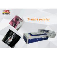 Buy cheap Desktop Flatbed A3 Digital Tee Shirt Printing Machine 2065 * 1705 * 1240mm from wholesalers
