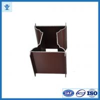 Buy cheap Electrophoresis Aluminum Profiles for Doors, Copper Color from wholesalers