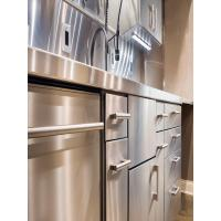 Buy cheap Durable Commercial Stainless Steel Machined Parts SS Kitchen Cabinets from wholesalers