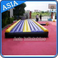 Buy cheap Yoga Training Inflatable Tumble Mattress With Constant Blower from wholesalers