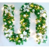 Buy cheap Christmas decorations  wreath door act the role of cane wreaths hanging loop window medallion set decoration supplies from wholesalers