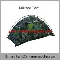 Buy cheap Wholesale Cheap China Military Camouflage Outdoor Camping Travel Single Army Tent from wholesalers