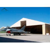 Buy cheap 30m * 50m Helicopter Hangar / Fire Resistant And Durable Large Tents from wholesalers