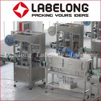Buy cheap Automatic Shrink Sleeve Label Machine , Label Applying Machine 220V 50/60Hz from wholesalers