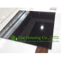 Buy cheap Black Color Polished Porcelain Tile For Floor And Wall, 600mm * 600mm Black polished tile from wholesalers