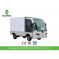 Buy cheap Stainless Steel Container Electric Cargo Van With 2 Seats Customized Dimension from wholesalers