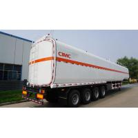 Buy cheap CIMC diesel tanks type 3 axle widely used fuel trailers for sale from wholesalers