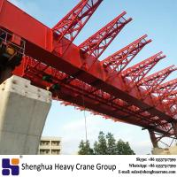 Buy cheap Heavy duty 500 ton highway overhead movable scaffolding system for bridge erection from wholesalers