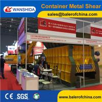 Buy cheap China WANSHIDA Automatic Scrap Shear/Container Shear for propane tanks from wholesalers