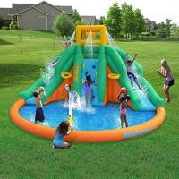 Buy cheap Kids PVC Giant Inflatable Water Slide With Swimming Pool SGS Certification from wholesalers