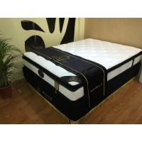 Quality Luxury knitted fabric pillow top mattress for sale