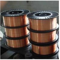 Buy cheap 0.8 1.0 1.2 mm CO2 Gas Shielded  SG2 Welding Wire AWS ER70S-6 Welding Materials from wholesalers