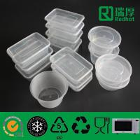 Buy cheap Disposable Takeaway Microwaveable Plastic Food Container 1750ml from wholesalers
