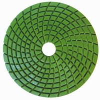 Buy cheap Concrete Wet Polishing Pads / 4inch Diamond Grinding Pads Circle Type  from wholesalers