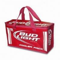 18-can Beer Cooler Bag, Customized Designs are Accepted