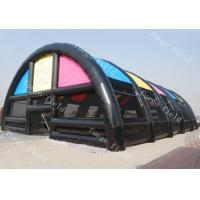 Buy cheap Paint Ball Game Huge Inflatable Tent Structures For Archery Laser Tag Drones from wholesalers