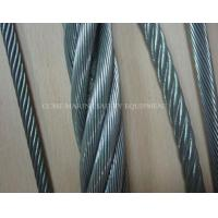 Buy cheap 6x37+FC 6x37+IWS 6x37+IWR Marine Galvanized Steel Wire Rope from wholesalers