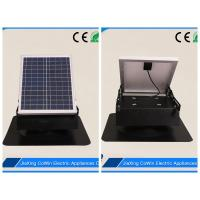 China High Performance Solar Roof Attic Fan , 20W Solar Panel Solar Powered Roof Vent Fan on sale