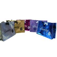 Buy cheap Non Woven Carry Bag , 75g Coated Unwoven Fabric Shopping Bags With Butterfly Bow from wholesalers