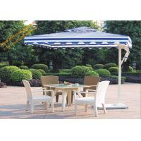 Buy cheap Square UV Protection Waterproof Aluminum Side Stand Patio Umbrella product
