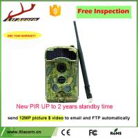 Buy cheap Infrared Analog Hunting Camera CCD 3G 12MP MMS 1080p Night Vision Action Wireless Scouting Trail Outdoor Hunting Camera from wholesalers