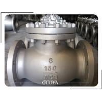 Buy cheap API 6D CL150 WCB/CF8/CF8M/SS316 FLANGED SWING CHECK VALVE from wholesalers