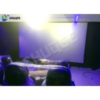 Buy cheap Dymatic 5D Motion Chairs 5D Cinema System With 12 Special Effect product