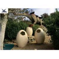 Animatronic Giant Dinosaur Eggs Models For Jurassic Park Decoration 5 Meters