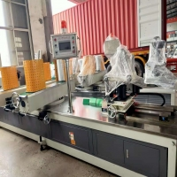Buy cheap Automatic Spiral Carton Cardboard Paper Pipe Core Tube Making Machine from wholesalers