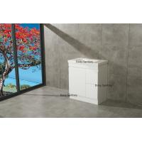 Buy cheap Modern Bathroom Cabinet MDF Bathroom Vanity Big Drawers With DTC Metal Runners product