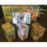 Buy cheap Transparent Red Wine VMPET Empty Bag In Box / Juice Bag In Box from wholesalers
