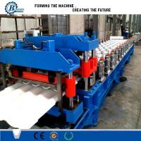 Buy cheap Colors Metal Sheet Roof Tile Roll Forming Machine For Building Wall And Roof from wholesalers