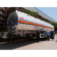 Buy cheap aluminum alloy tanker trailer 45,000 liters fuel semi trailer for sale from wholesalers