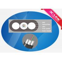 Buy cheap PE Sheath Drop Cable 2-12 Core Fiber Optic Ethernet Cable FTTH Cable product