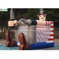 Buy cheap Fire Retardant Toddler Inflatable Bouncing Castle Of Pirate Jack Theme from wholesalers