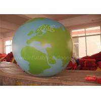 Buy cheap Advertising Inflatable Globe Ball Full Printing Helium Inflatable Planet from wholesalers