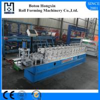 Buy cheap 40mm Shafts Roller Shutter Door Roll Forming Machine With Embossing from wholesalers
