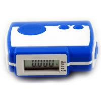 Buy cheap Built-in belt clip, LED light electronic pedometer SP-0730, step count  distance calories product