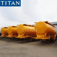 Buy cheap TITAN 33/35cbm payload powder bulk Cement Tanker semi Trailer for sale from wholesalers