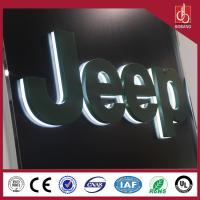 Buy cheap Customized 3D LED backlit acrylic letters sign from wholesalers