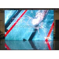 Buy cheap Customized indoor Commercial advertising HD P3 LED Display Screen Nova / Linsn Software Full Color LED Video Wall from wholesalers