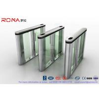 Buy cheap Pedenstian Entry Speed Gate Turnstile Gate Visit Management System For Bank With CE approved from wholesalers