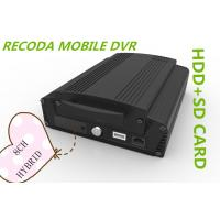 Buy cheap Hybrid 8CH 1080P HDD SD card HD Mobile DVR vehicle video recorder 3G GPS WIFI from wholesalers