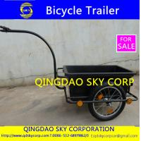 Buy cheap Plastic Tray Cargo Bicycle Trailer Jogger from wholesalers