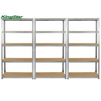 Buy cheap Home DIY Boltless Garage Shelving / Boltless Steel Shelving Corrosion Protection from wholesalers