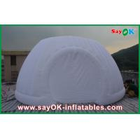 Buy cheap Strong Oxford Cloth Inflatable White Air Tent , Commercial Inflatable Roundness Tent from wholesalers