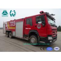 Buy cheap Howo 266 Hp Emergency Rescue Fire Fighting Truck  6 X 4 With High Pressure Pump from wholesalers